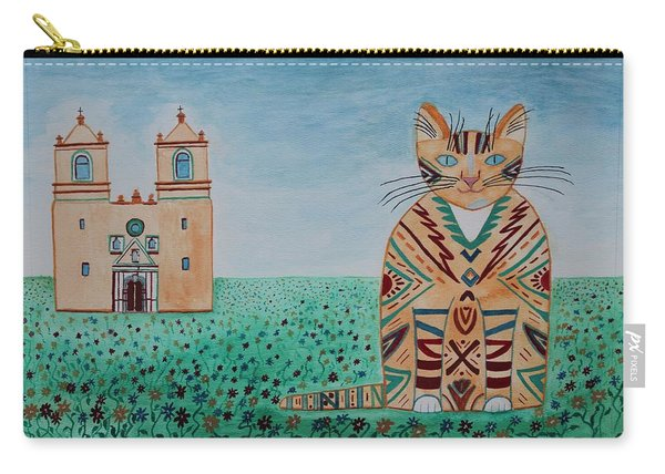 Mission Concepcion Cat Carry-all Pouch