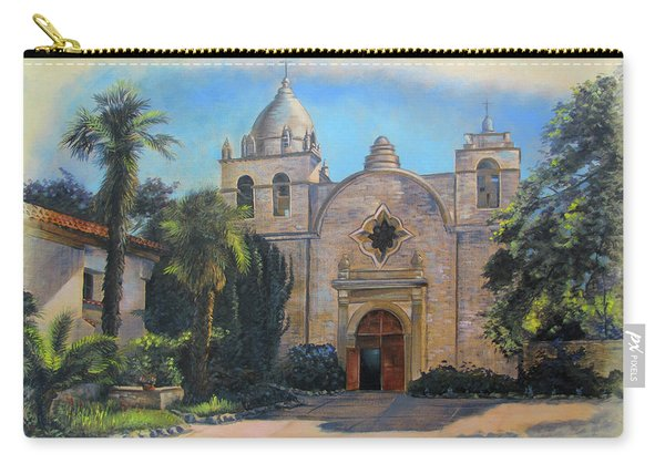 Mission San Carlos In Carmel By The Sea Carry-all Pouch