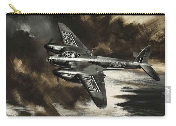 Mission To Danger Carry-all Pouch