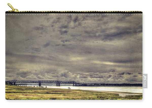 Mississipi River Carry-all Pouch