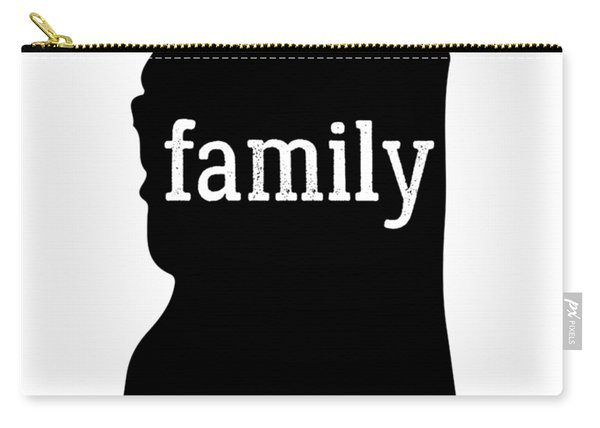 Mississippi Cool Gift Family State Shirt Dark Carry-all Pouch