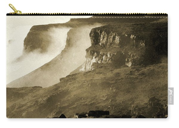 Mist In Lesotho Carry-all Pouch