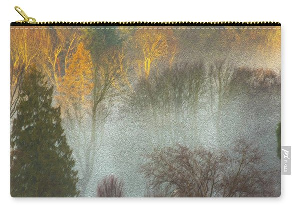 Mist In The Park Carry-all Pouch