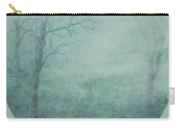 Mist On The Meadow Carry-all Pouch
