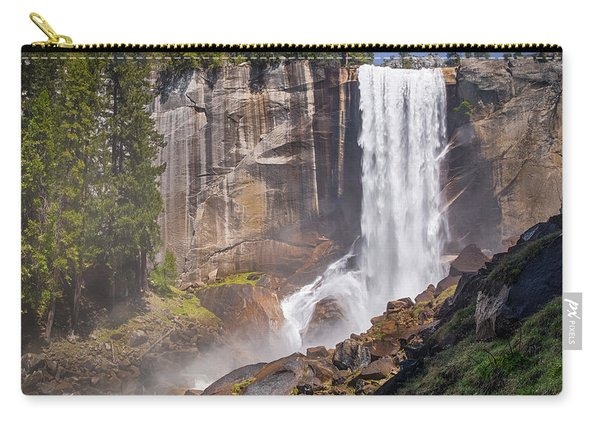 Mist Trail And Vernal Falls Carry-all Pouch