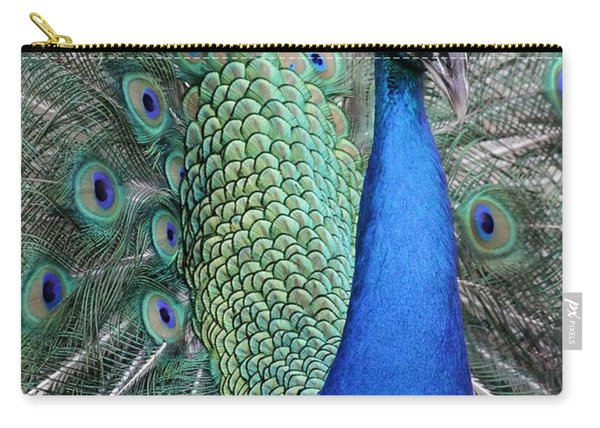 Mister Peacock Carry-all Pouch