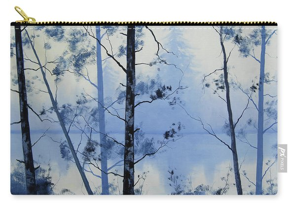 Misty Blue Lake Carry-all Pouch
