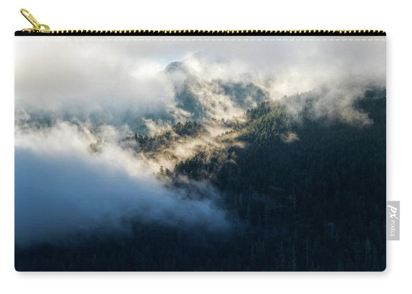Carry-all Pouch featuring the photograph Misty Hills by Michael Hope