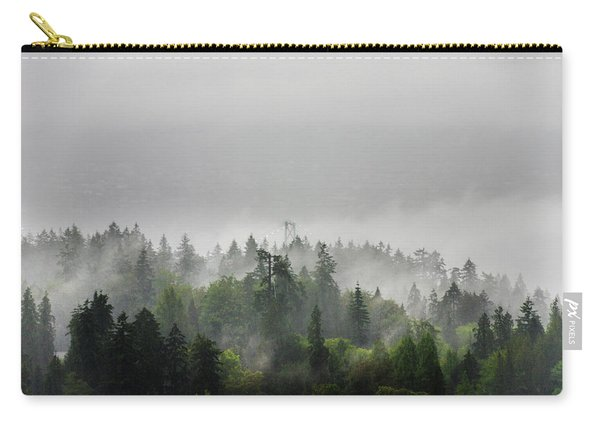 Misty Lions Gate View Carry-all Pouch