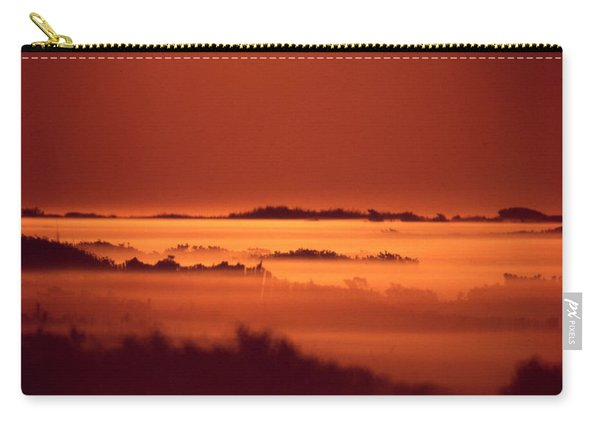 Misty Meadow At Sunrise Carry-all Pouch