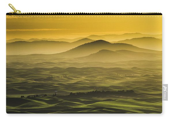 Misty Morning At Palouse. Carry-all Pouch