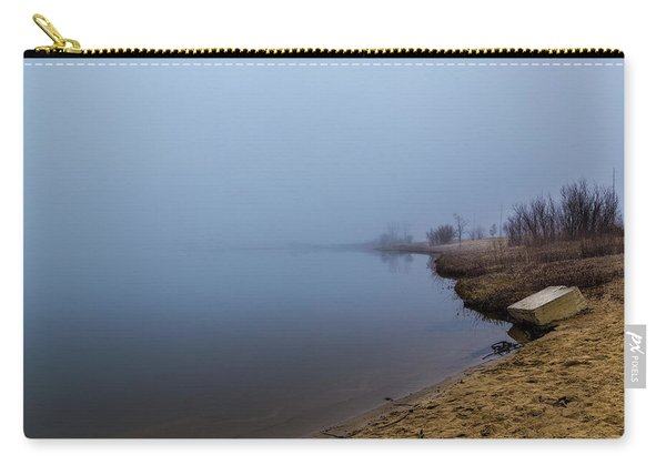 Misty Morning By The Lake Carry-all Pouch