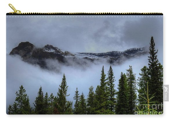 Misty Morning Jasper National Park Carry-all Pouch