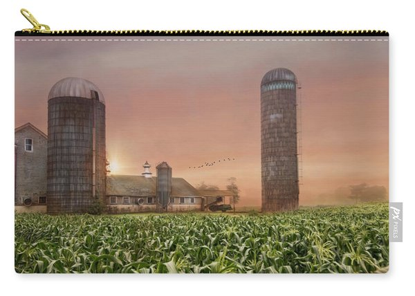 Misty Morning Maize Carry-all Pouch