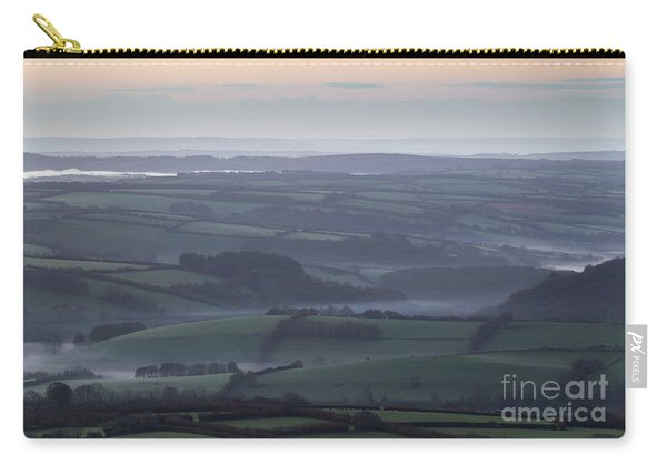 Misty Morning On Exmoor  Carry-all Pouch