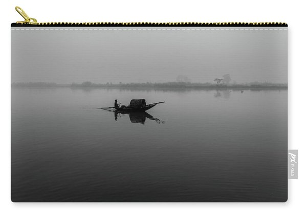 Misty Morning On The Lower Ganges Carry-all Pouch
