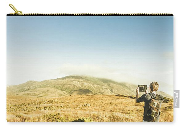 Misty Mountain Travels Carry-all Pouch