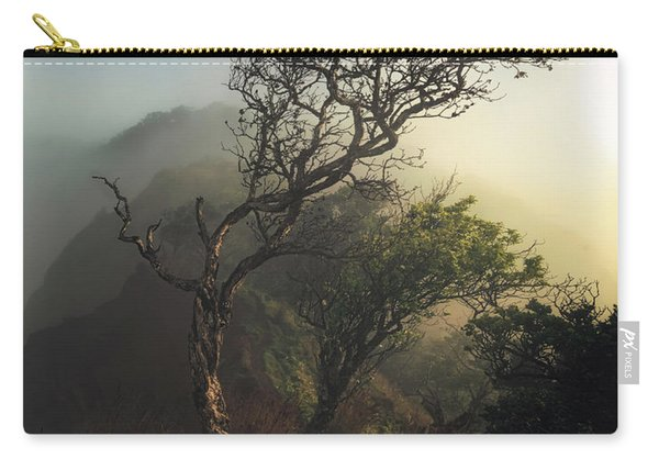 Misty Na Pali Carry-all Pouch