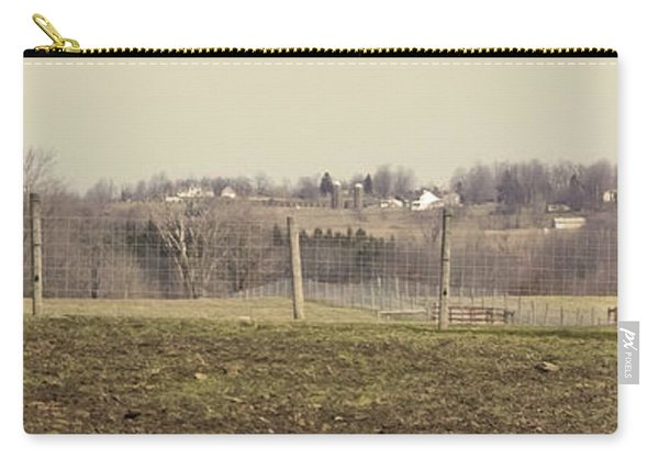 Misty Rural Scene Carry-all Pouch
