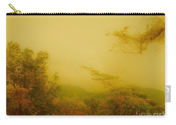 Misty Yellow Hue- El Valle De Anton Carry-all Pouch