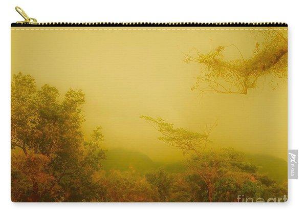 Misty Yellow Hue- El Valle De Anton Carry-all Pouch