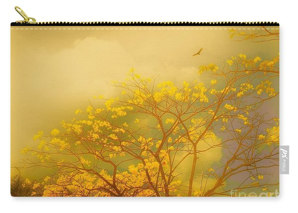 Misty Yellow Hue -poui Carry-all Pouch