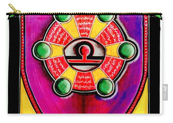 Mitchell-creehan Ancestral Healing Family Crest Carry-all Pouch