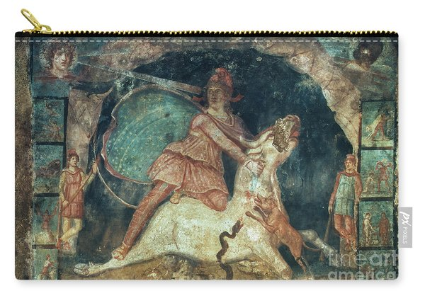 Mithras Killing The Bull - To License For Professional Use Visit Granger.com Carry-all Pouch
