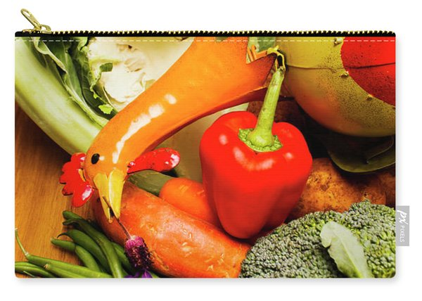 Mix Of Agriculture Produce Carry-all Pouch