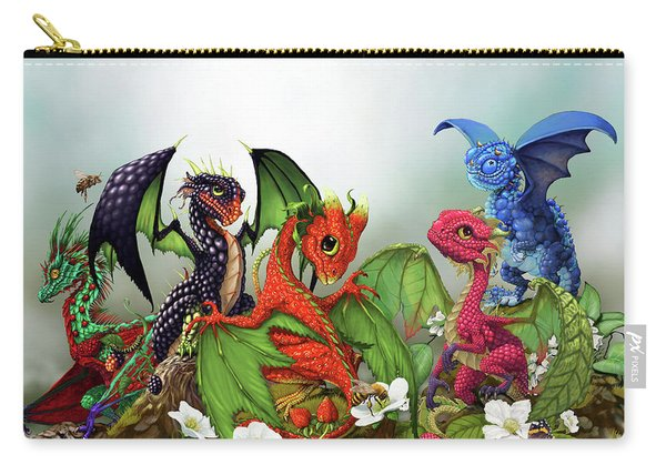 Mixed Berries Dragons Carry-all Pouch
