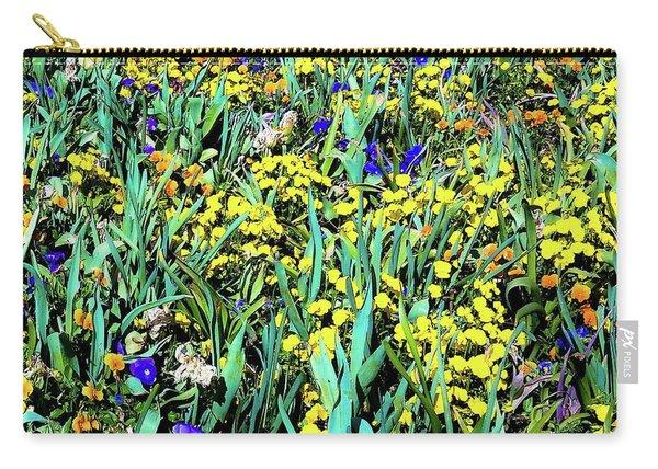 Mixed Flower Garden 515 Carry-all Pouch