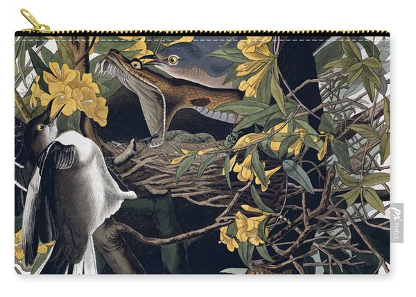 Mocking Birds And Rattlesnake Carry-all Pouch