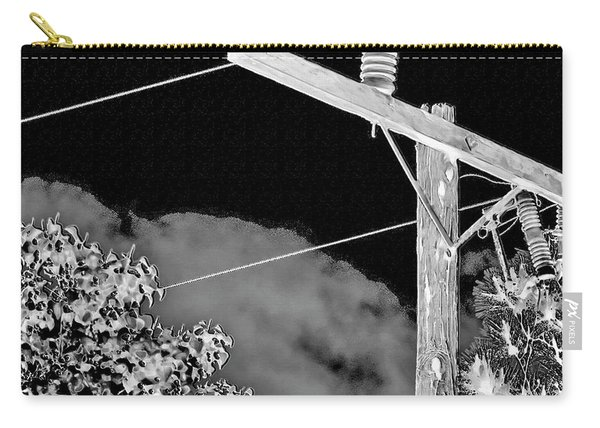 Mockingbird On A Wire Carry-all Pouch
