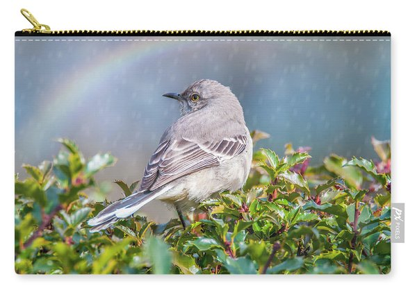 Mockingbird Rainbow Carry-all Pouch