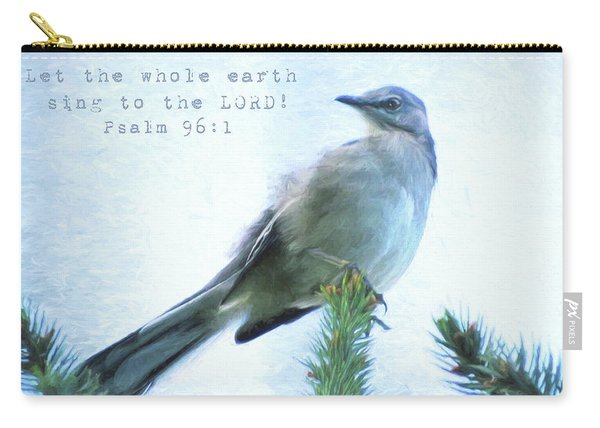 Mockingbird Scripture Carry-all Pouch