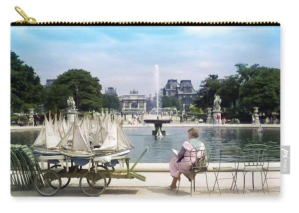 Model Sailboat Basin, Paris Carry-all Pouch