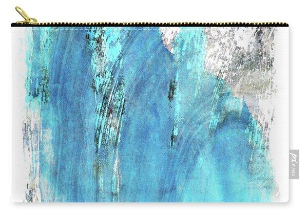 Modern Abstract Art - Blue Essence - Sharon Cummings Carry-all Pouch