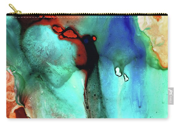 Modern Abstract Art - Color Rhapsody - Sharon Cummings Carry-all Pouch