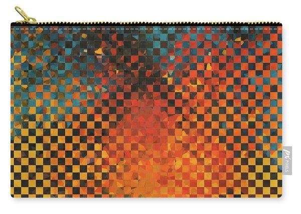 Modern Art - Pieces 14 - Sharon Cummings Carry-all Pouch