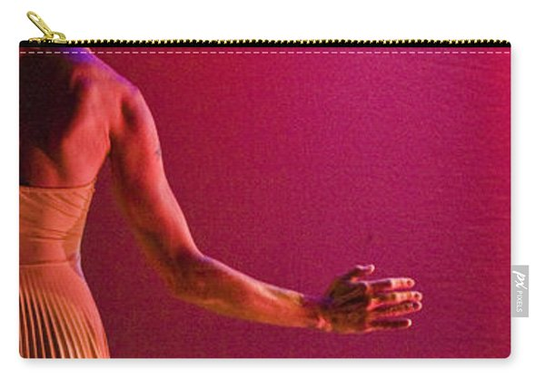 Carry-all Pouch featuring the photograph Modern Dance 17 by Catherine Sobredo