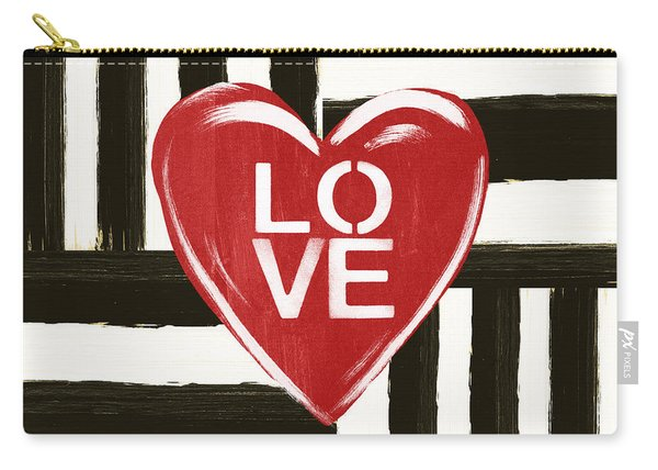 Modern Love- Art By Linda Woods Carry-all Pouch