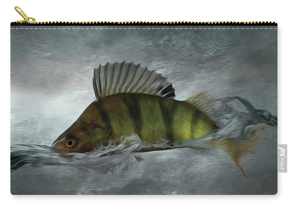 Modern Perch Painting - Part02 Carry-all Pouch