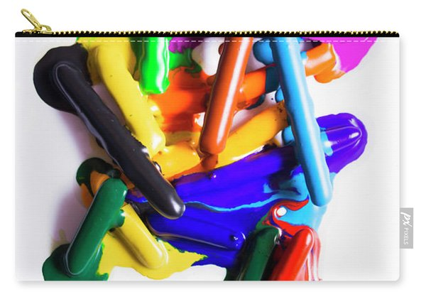 Modern Rainbow Art Carry-all Pouch
