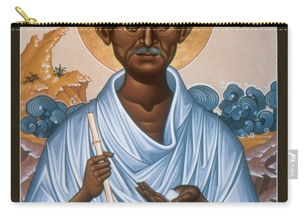 Mohandas Gandhi - Rlmog Carry-all Pouch