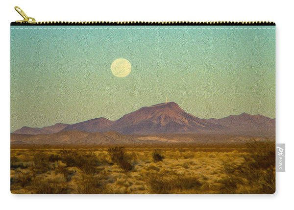 Mohave Desert Moon Carry-all Pouch