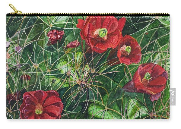 Mohave Mound Cactus Carry-all Pouch
