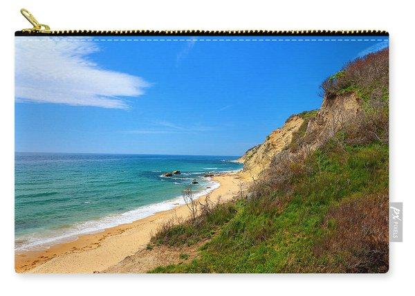 Mohegan Bluffs Block Island Carry-all Pouch
