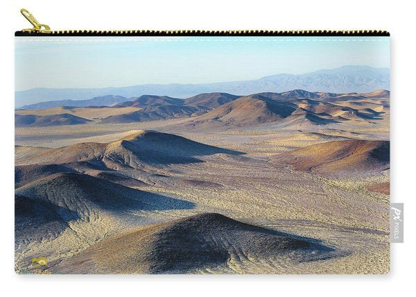 Carry-all Pouch featuring the photograph Mojave Desert by Jim Thompson