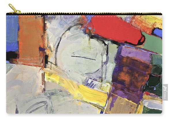 Carry-all Pouch featuring the painting Mojo Rizen Via La Woman by Cliff Spohn