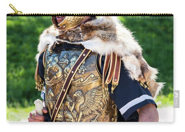 Watchful Roman Legionnary Soldier Carry-all Pouch